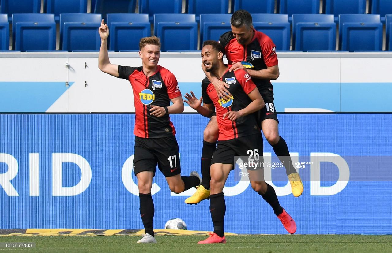 Report: Hoffenheim 0-3 Hertha BSC - Ailing visitors stun European ...