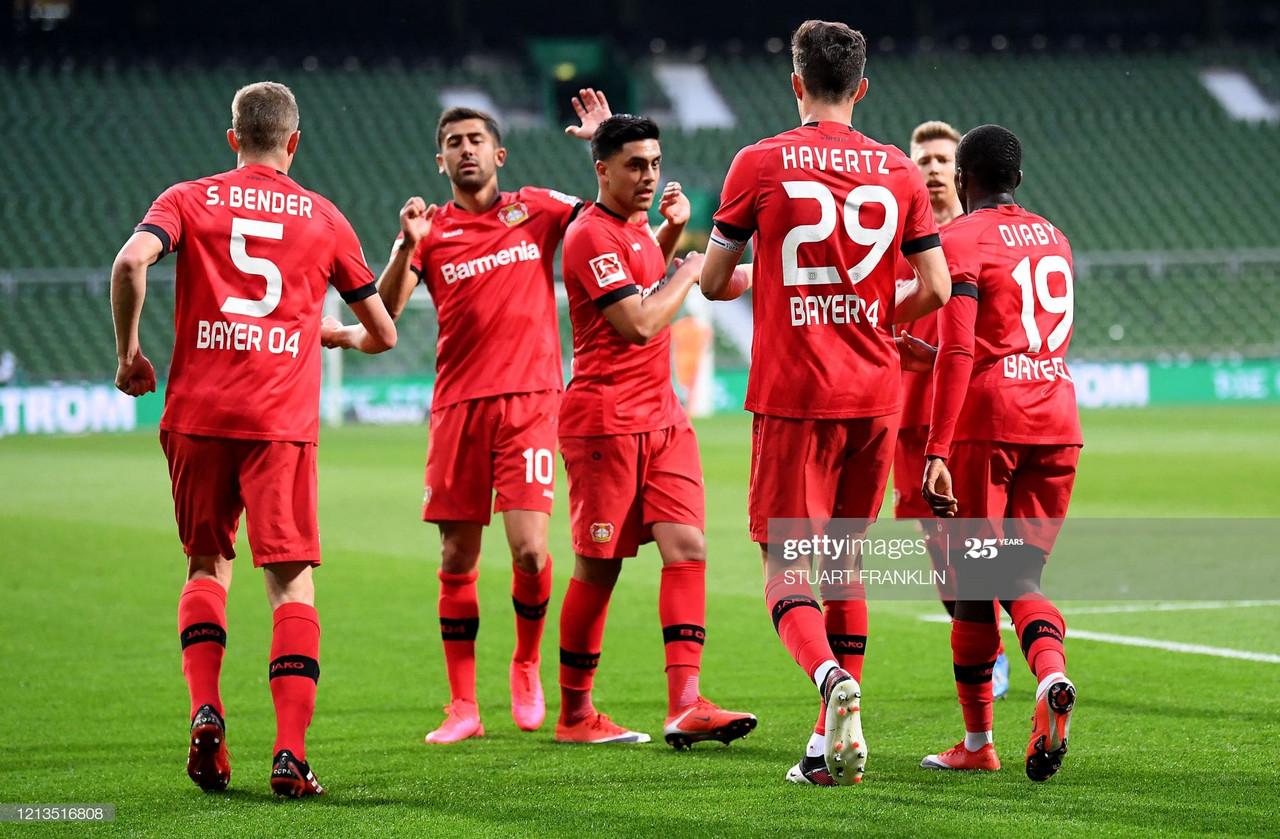 Werder Bremen 1-4 Bayer Leverkusen: Two Kai Havertz headers seal all three points for Leverkusen