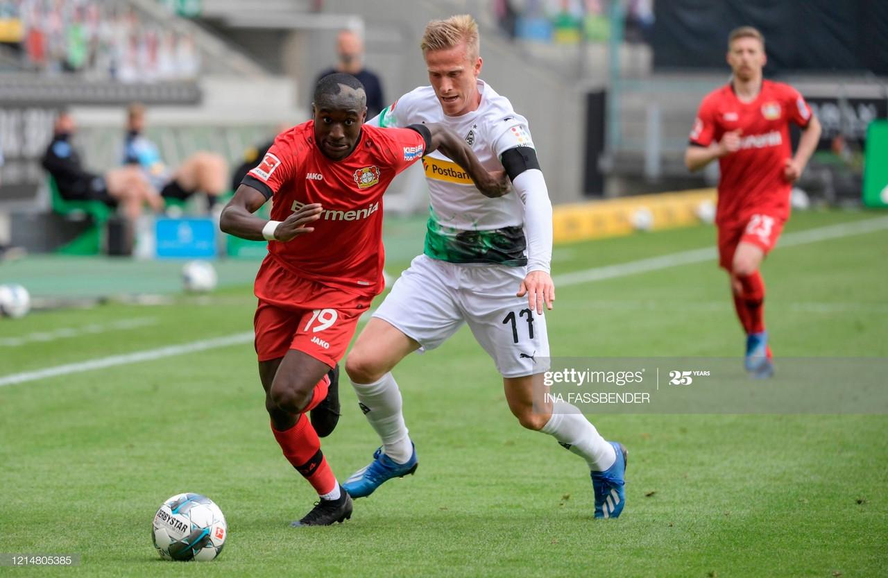 Monchengladbach 1-3 Leverkusen: Havertz double sends visitors third