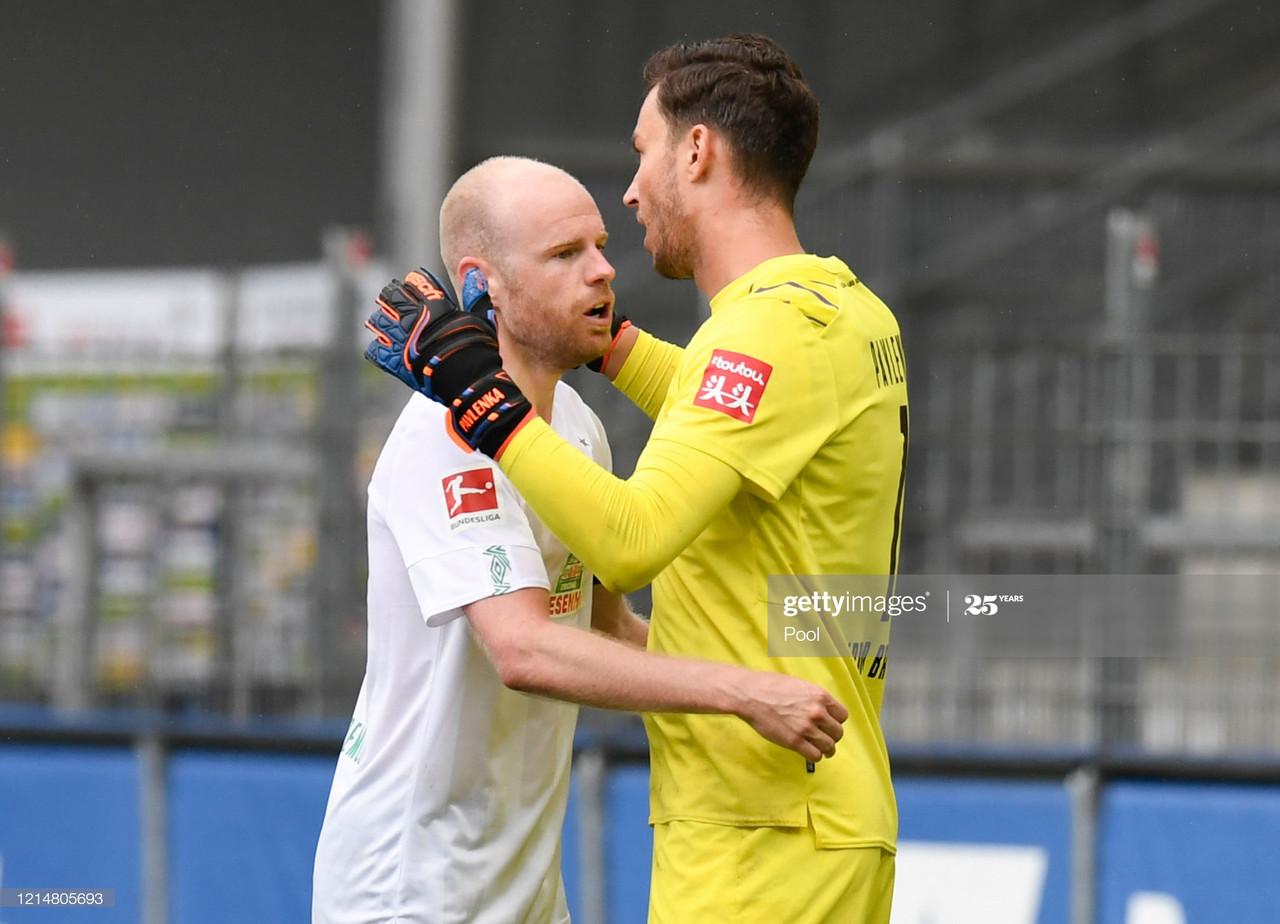 SC Freiburg 0-1 Werder Bremen: 10-man visitors claim vital win after remarkable finale