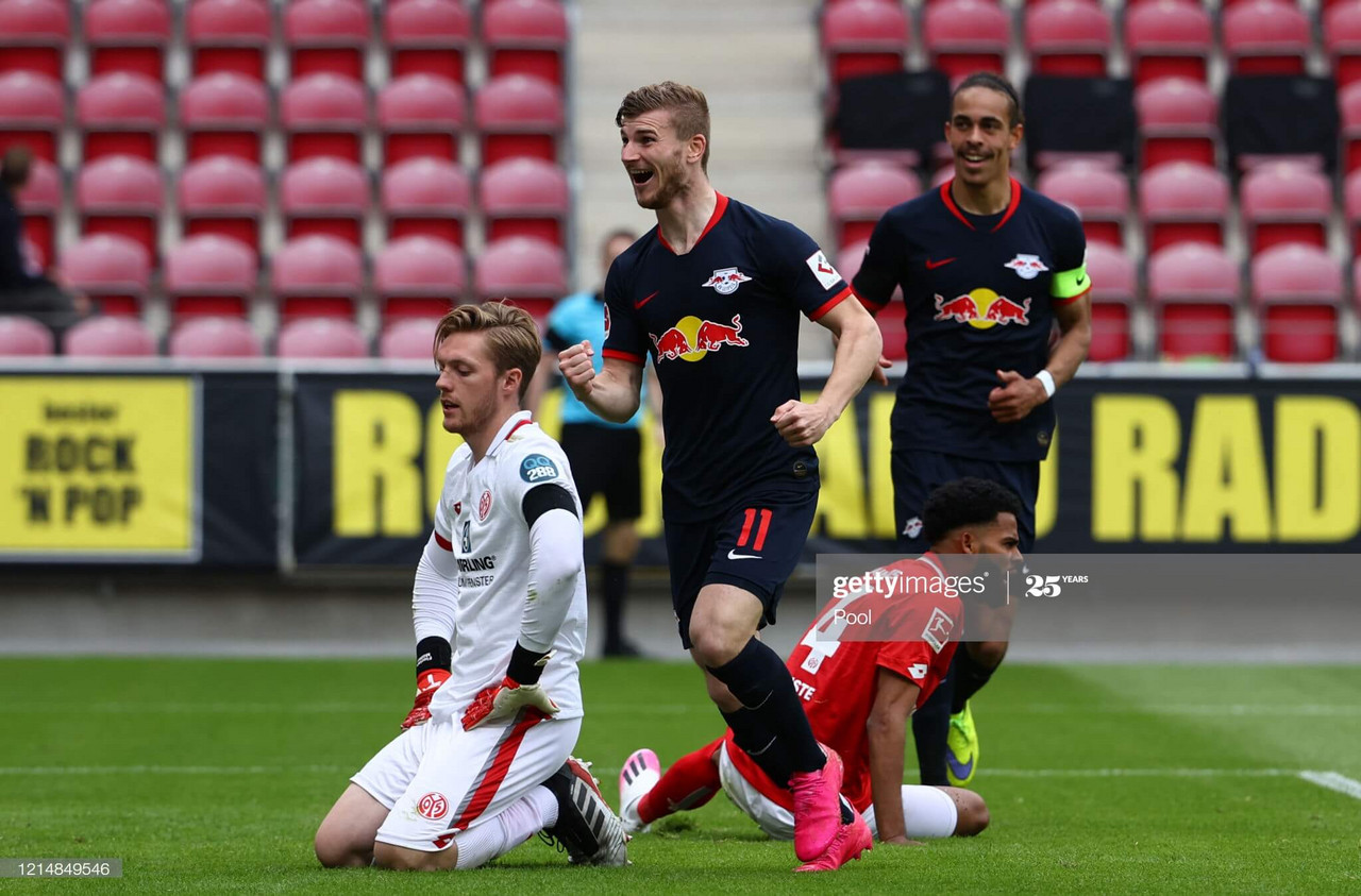 Mainz 05 0-5 RB Leipzig: Timo Werner inspires Leipzig into third