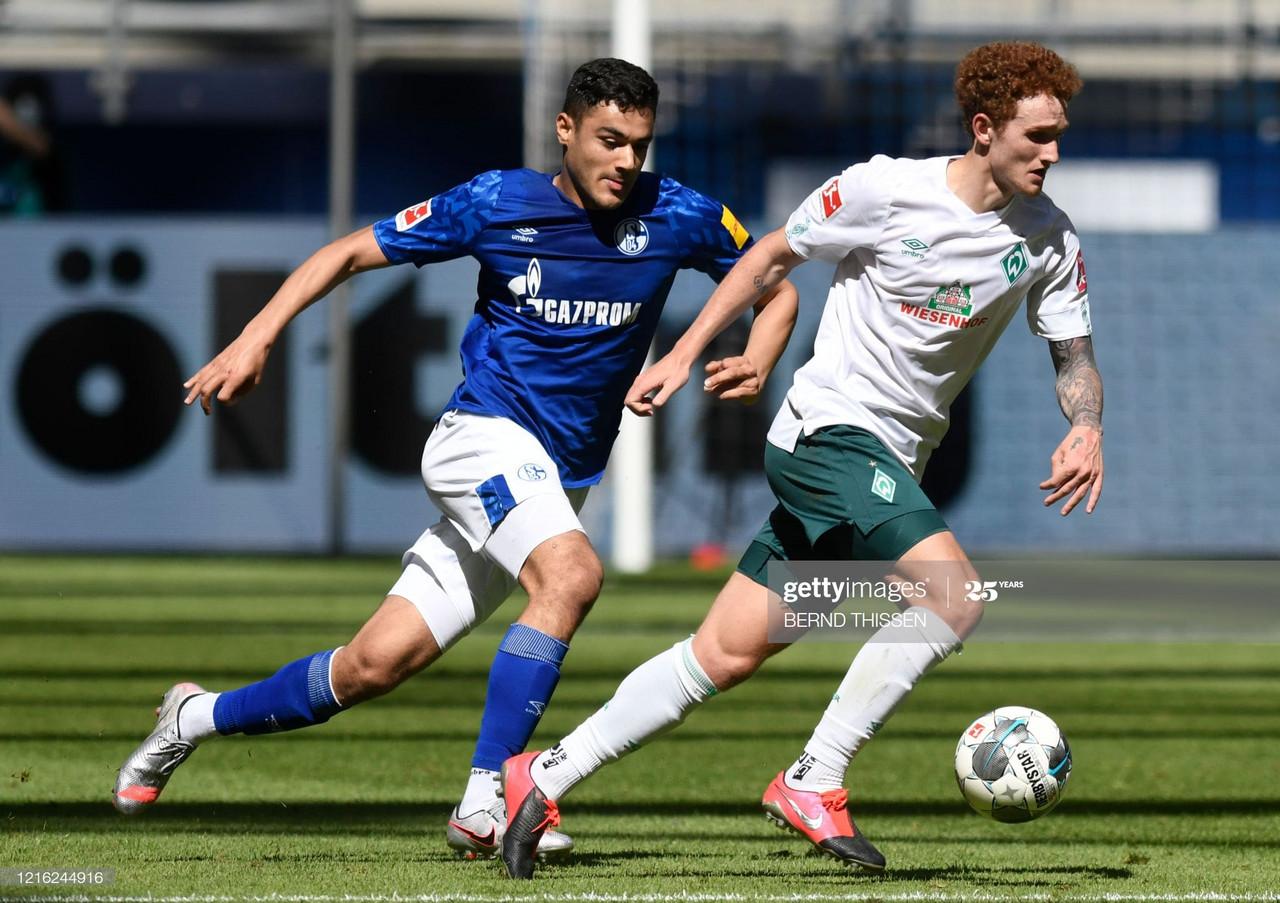 Schalke 0-1 Werder Bremen: Leonardo Bittencourt screamer keeps Bremen's Bundesliga hopes alive