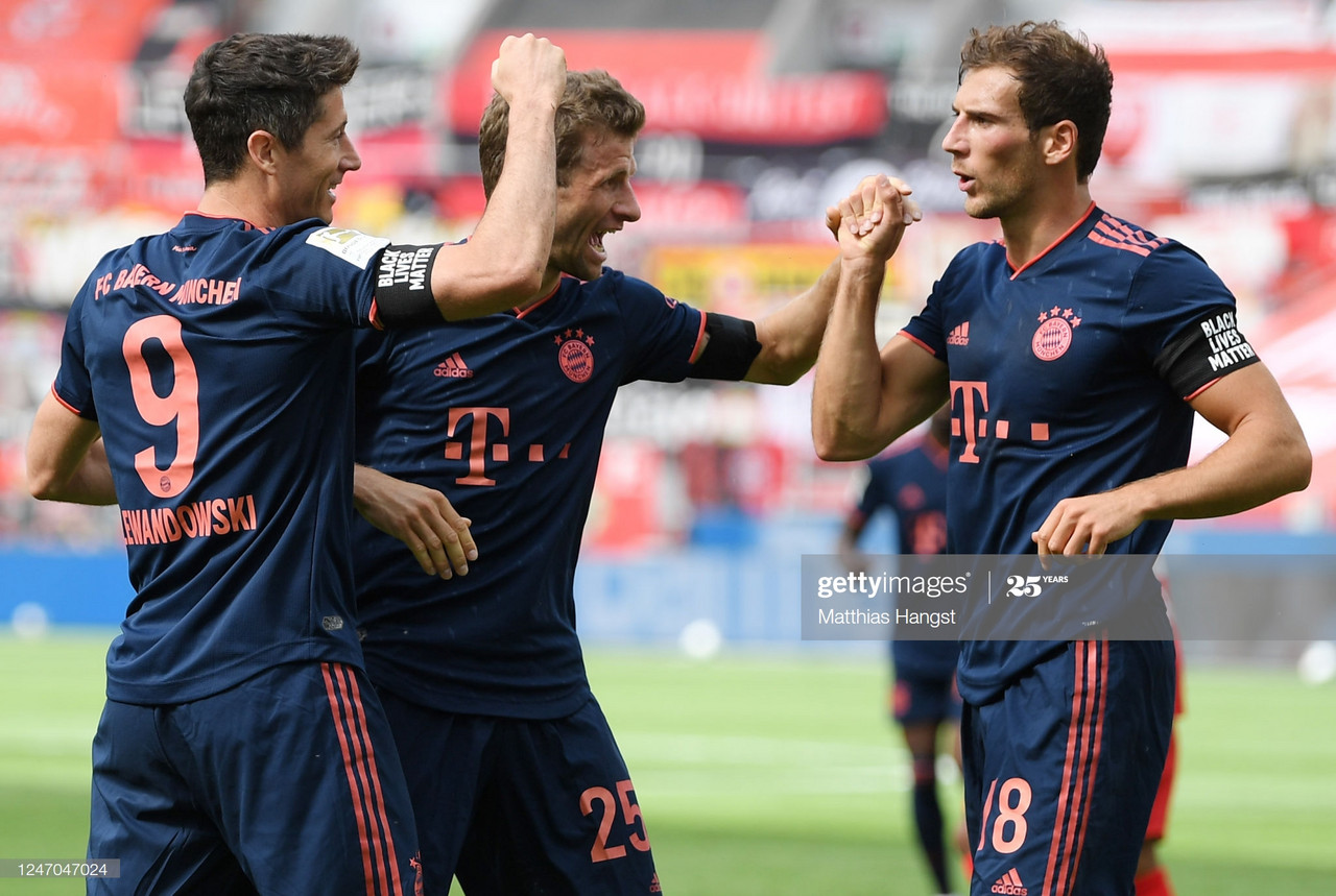 Bayer Leverkusen 2-4 Bayern Munich: Bayern close in on title after proving too good for Werkself