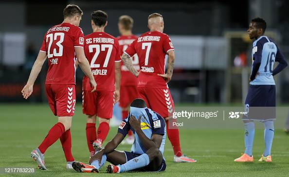 Freiburg 1-0 Borussia Monchengladbach: Freiburg add another twist to heated race for Europe
