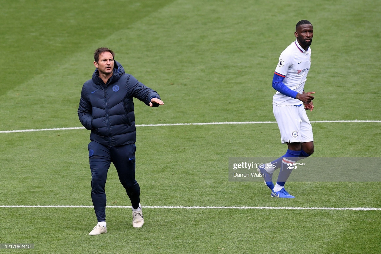Lampard offers exclusive on fixtures and fitness