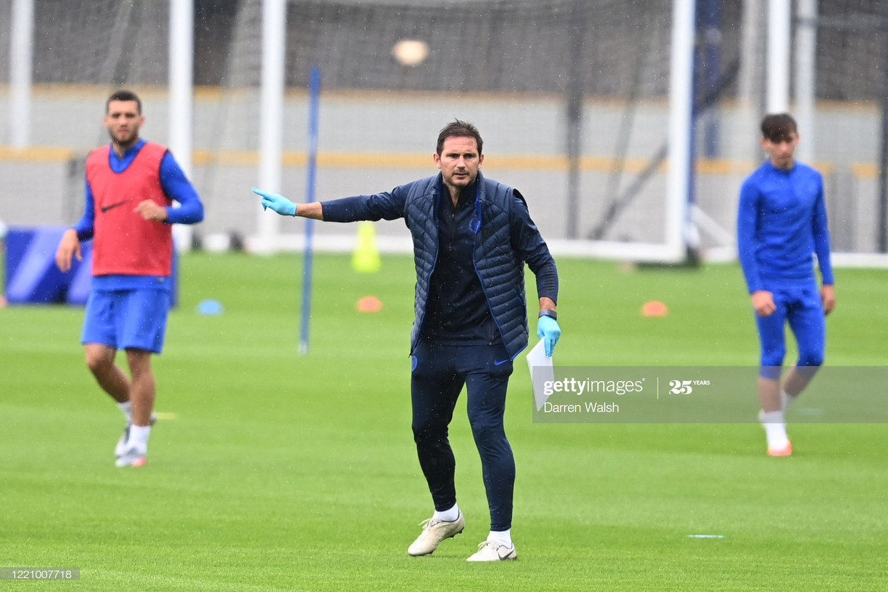 Lampard previews clash against Villa: 'We have to go full throttle'