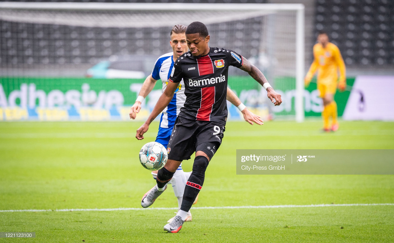 Everton interested in signing Leon Bailey from Bayer Leverkusen