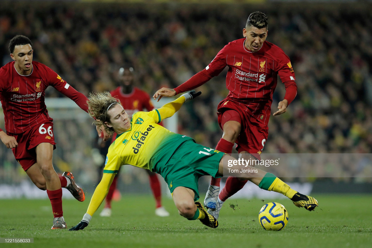 Norwich City vs Liverpool FC: Pre-match analysis