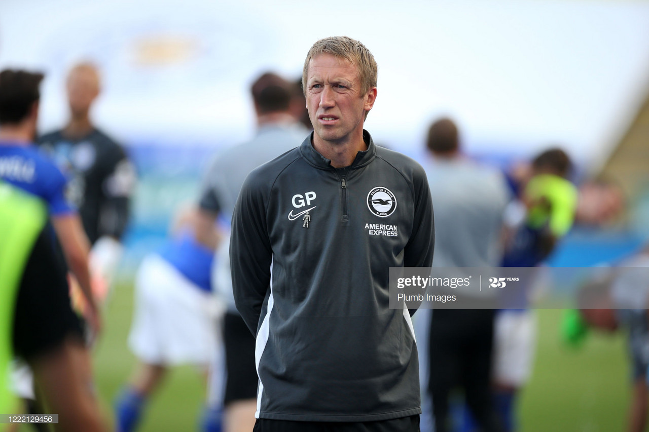 Graham Potter delighted with draw at Leicester City