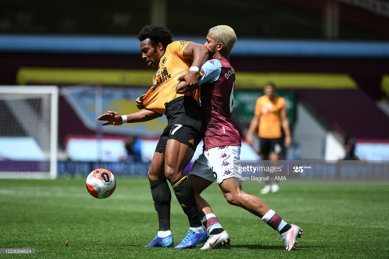 Ian Taylor reacts to Aston Villa defeat against Wolves