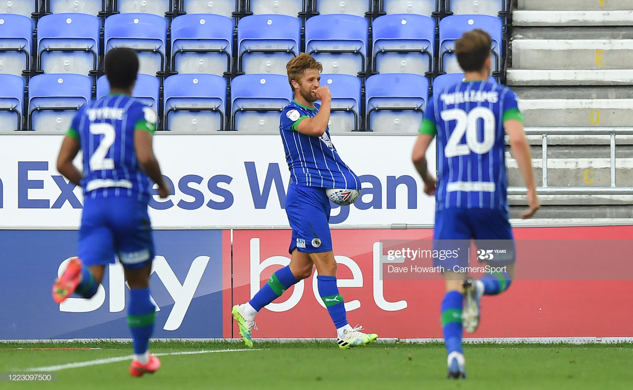 Wigan Athletic 2-0 Blackburn Rovers: Latics' late double sees off Blackburn in Lancashire derby