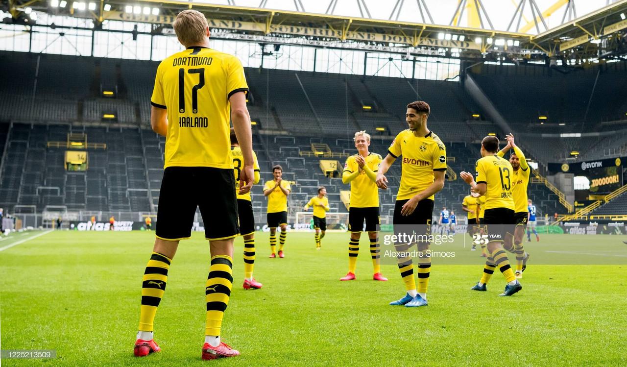 Borussia Dortmund 4-0 Schalke 04: Der BVB embarrass arch-rivals in the 180thRevierderby.