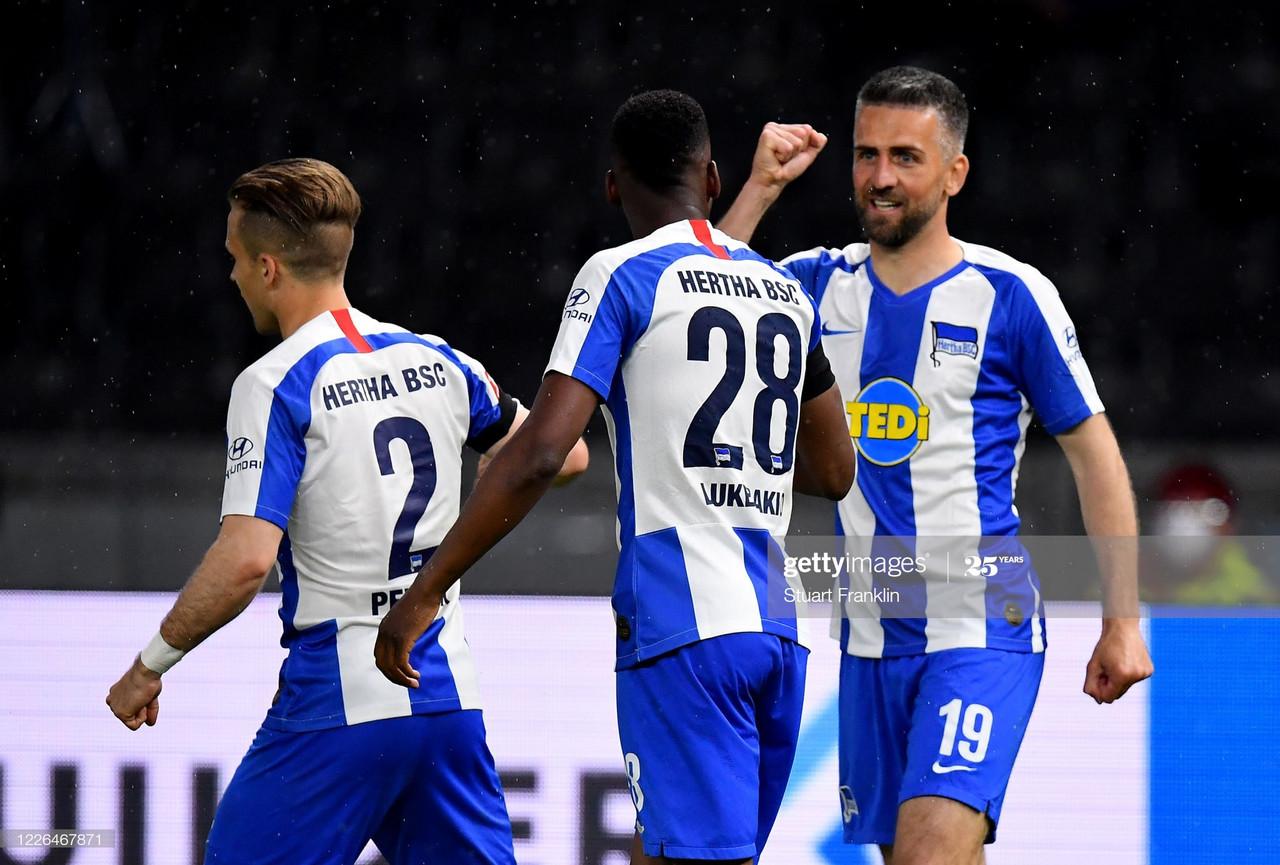 Report: Hertha BSC 4-0 1. FC Union Berlin: High-flying Hertha devastate city rivals