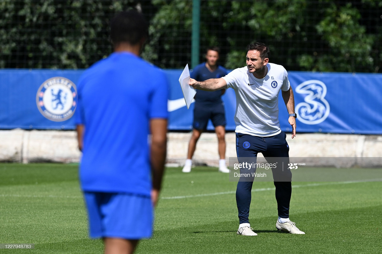 Lampard: 'I'm thinking of where we want to go and how we need to improve'