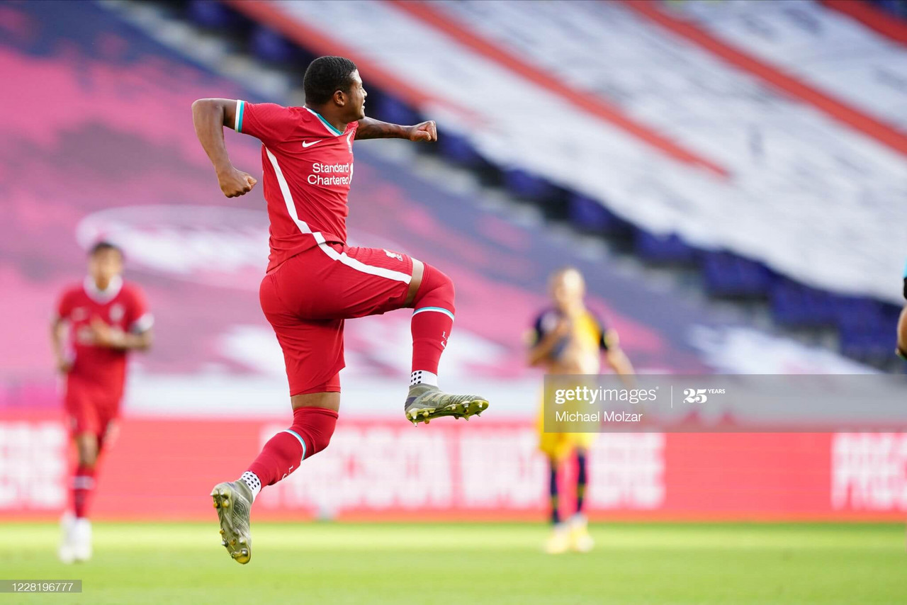 RB Salzburg 2-2 Liverpool: Brewster brace rescued draw for Reds
