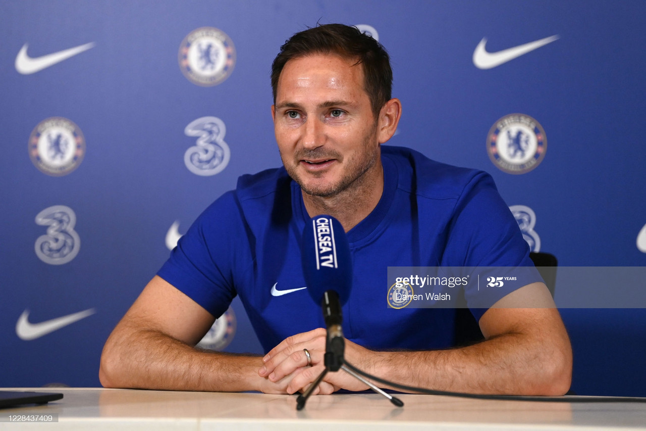 Lampard: 'I thrive off pressure'