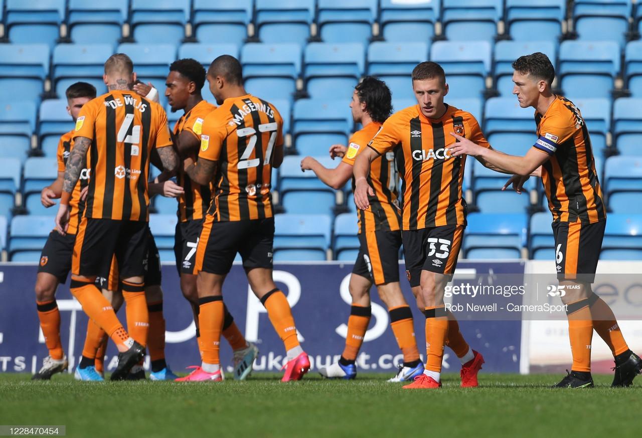 As it happened: Gillingham 0-2 Hull City
