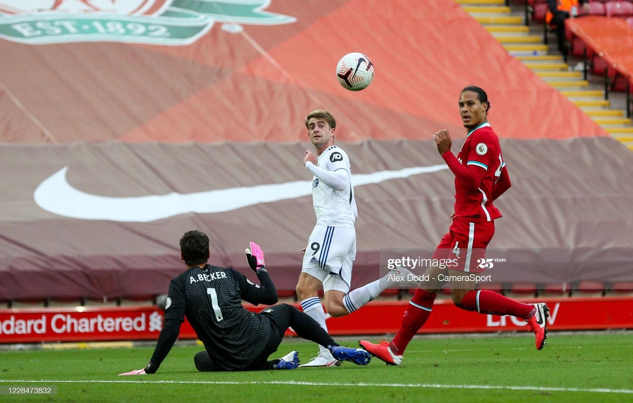 As it happened: Liverpool 4-3 Leeds United