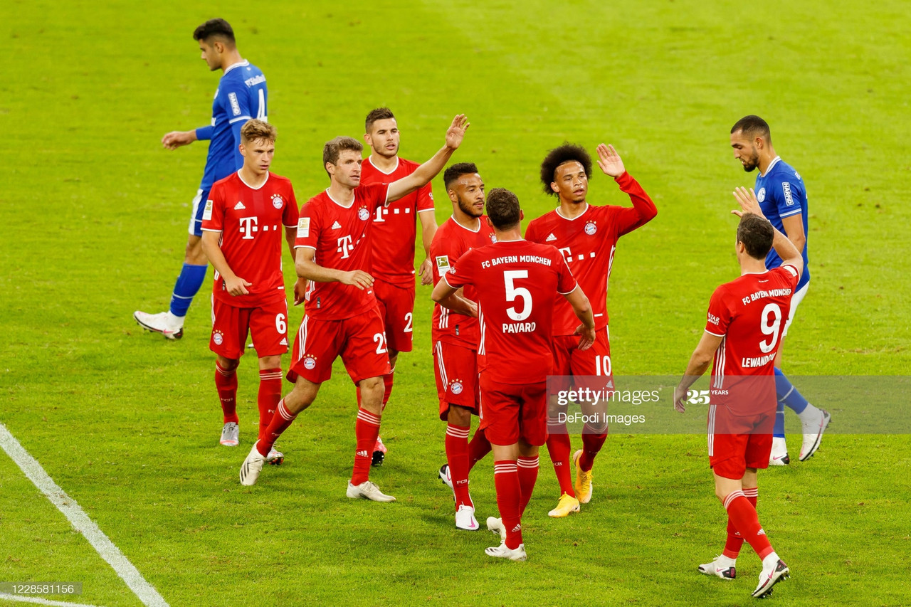 Bayern Munich 8-0 Schalke: Bayern win big on their Bundesliga return