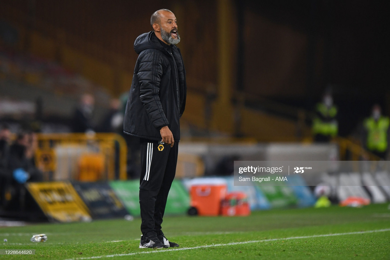 "Nuno Espirito Santo: ""We should have been more clinical."""