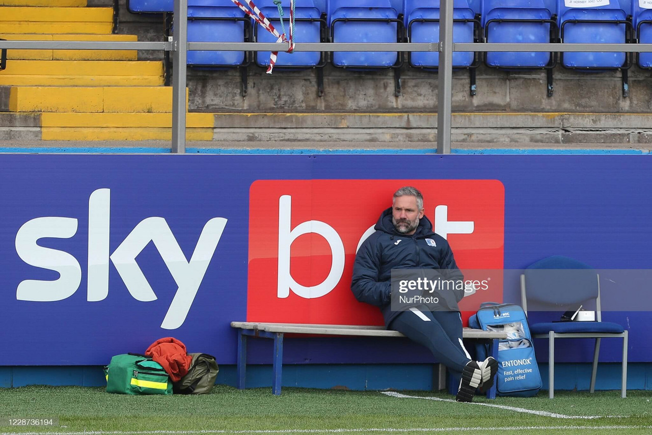 Barrow sack manager David Dunn after five months in charge