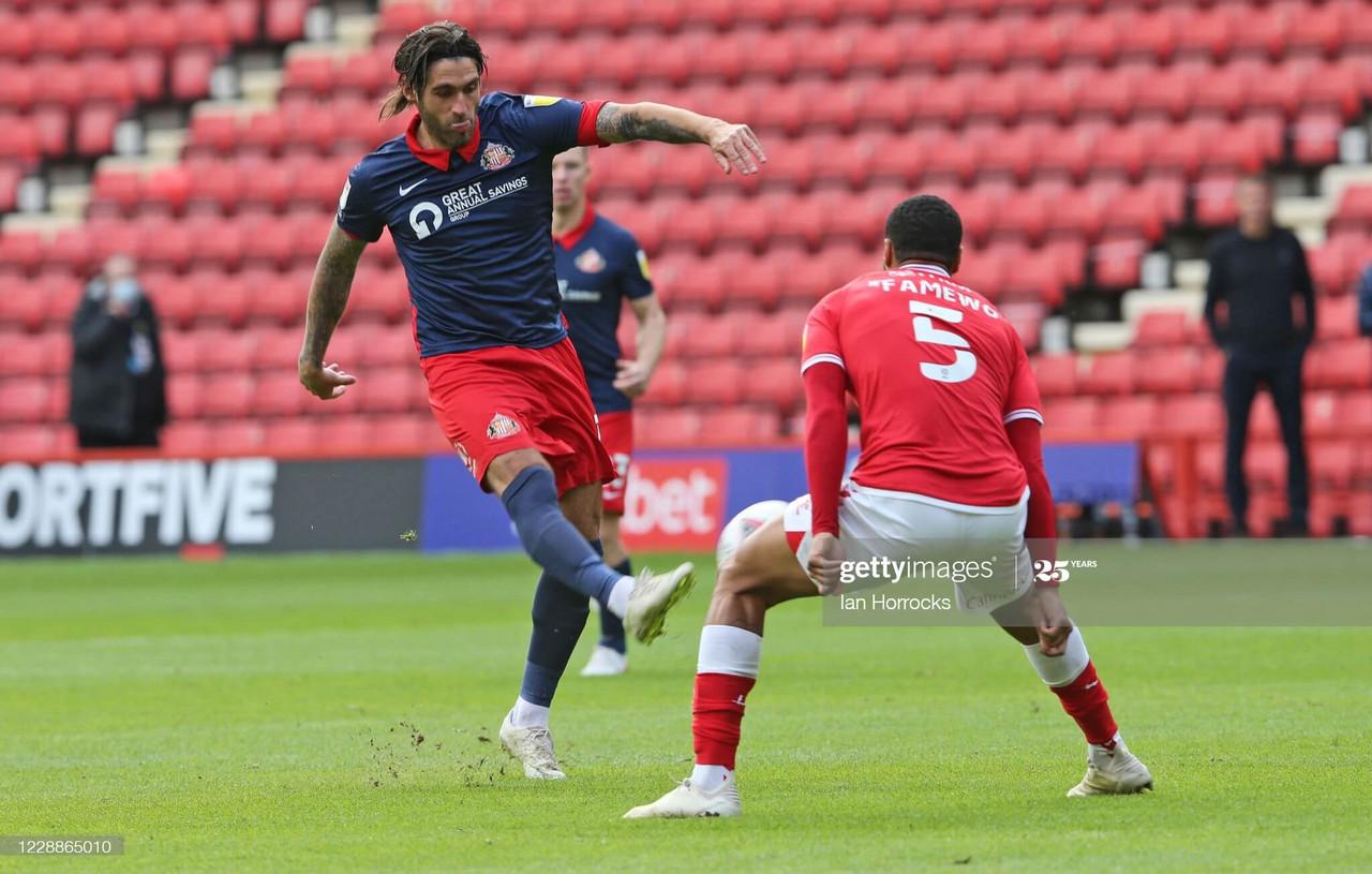 Charlton Athletic 0-0 Sunderland: Ten-man Sunderland more than hold their own