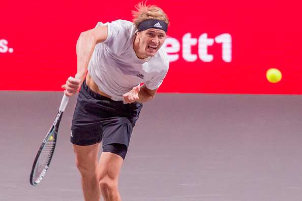 Zverev started his participation at Cologne with a win over Verdasco.<br>(Photo by Mario Hommes/DeFodi Images via Getty Images)