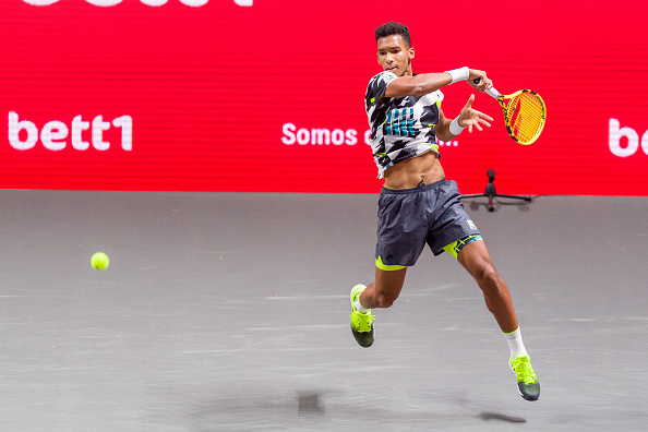 Felix Auger Aliassime through to the quarter-finals DeFodi Images