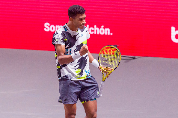 Felix Auger Aliassime into the final in Cologne DeFodi Images