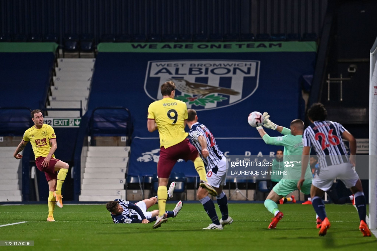 West Brom 0-0 Burnley: Both sides remain winless following stalemate.