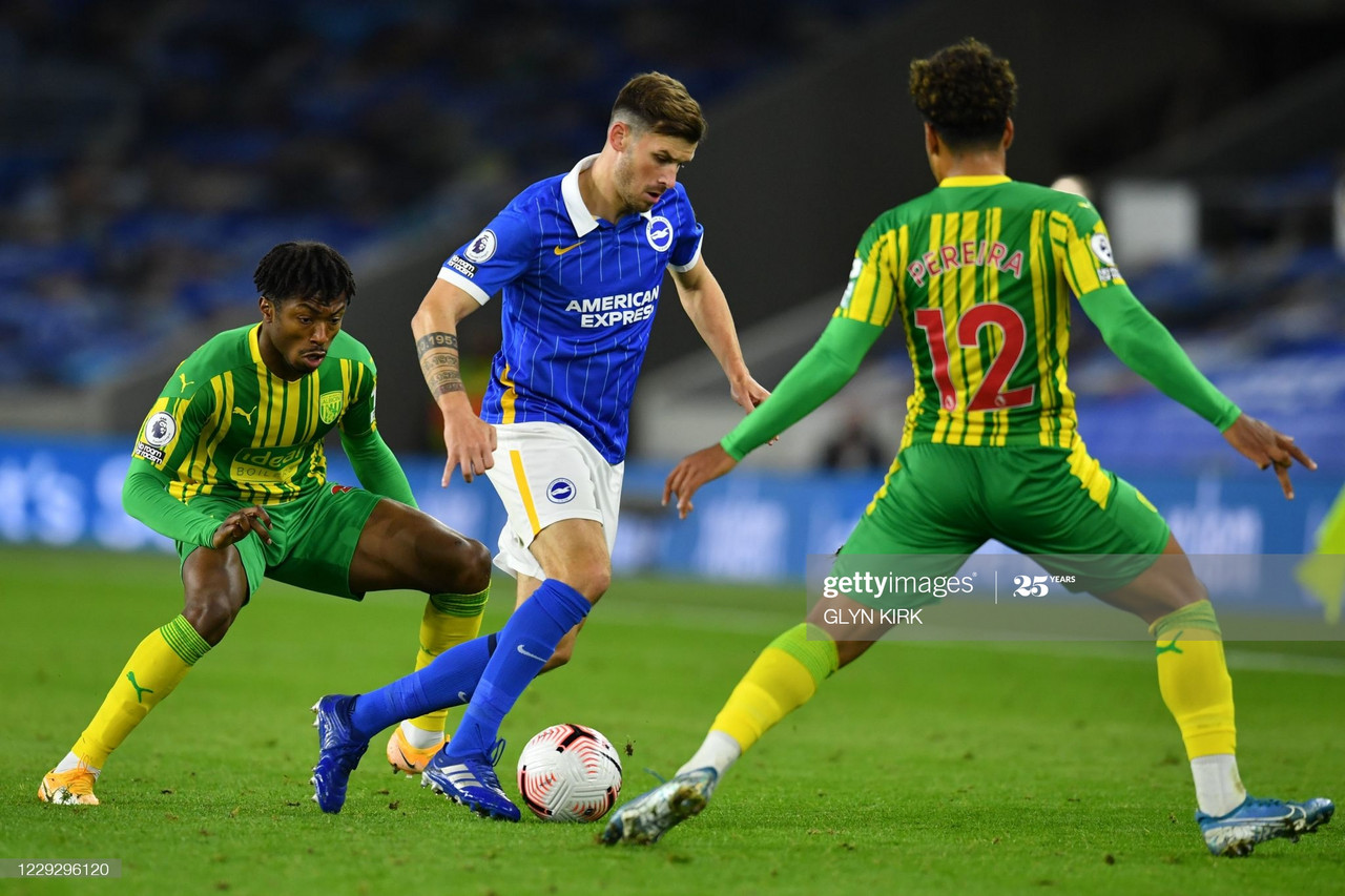 Brighton & Hove Albion vs West Bromwich Albion (1-1): Live stream, TV Updates and How to Watch Premier League 2020