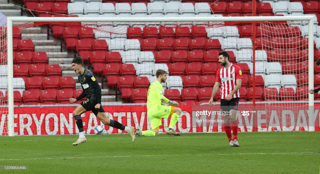 Sunderland 0-1 Wigan Athletic: Latics stun Black Cats in Lee Johnson's first game