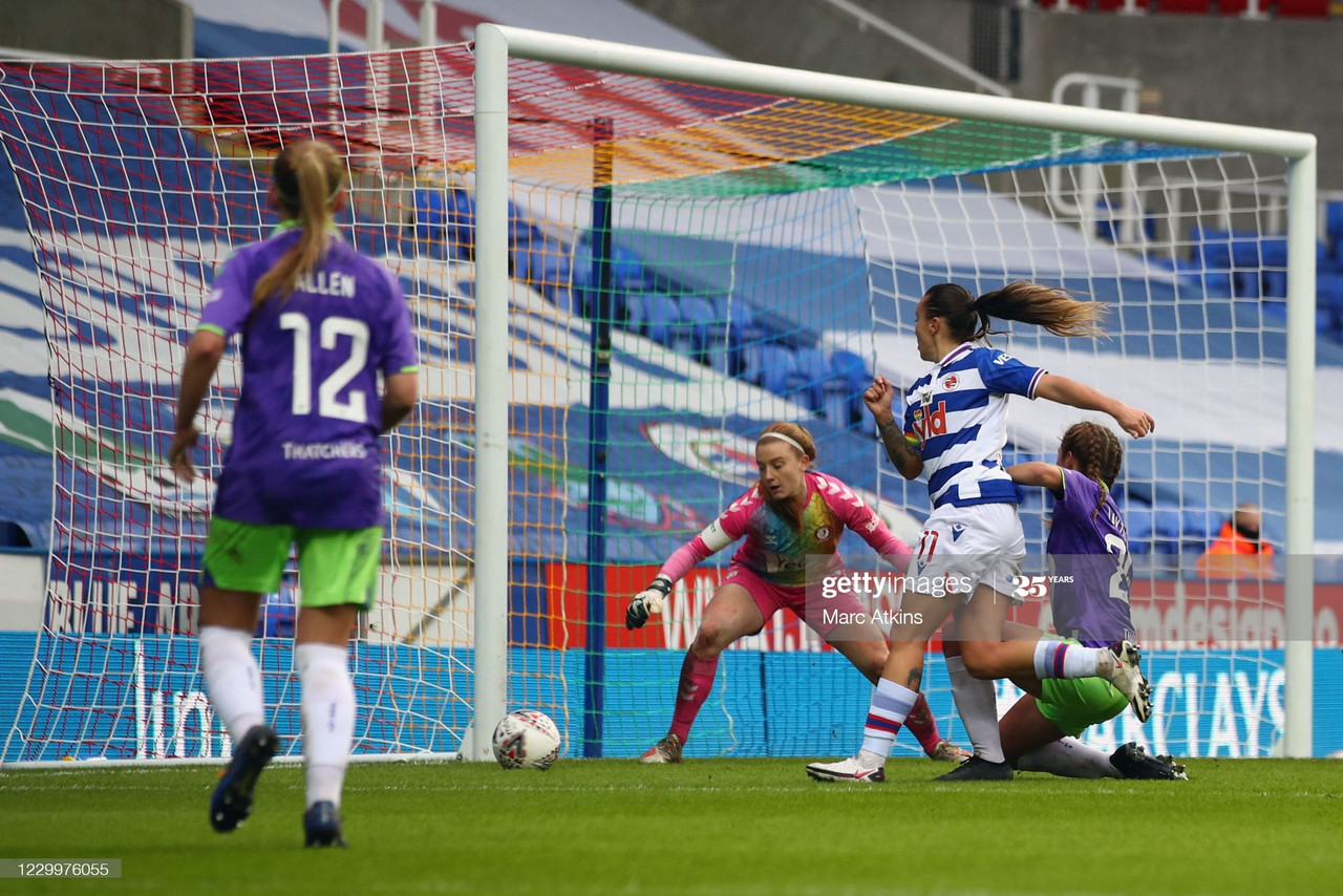 Reading Women 1-1 Bristol City Women: Points shared in draw at the Madejski