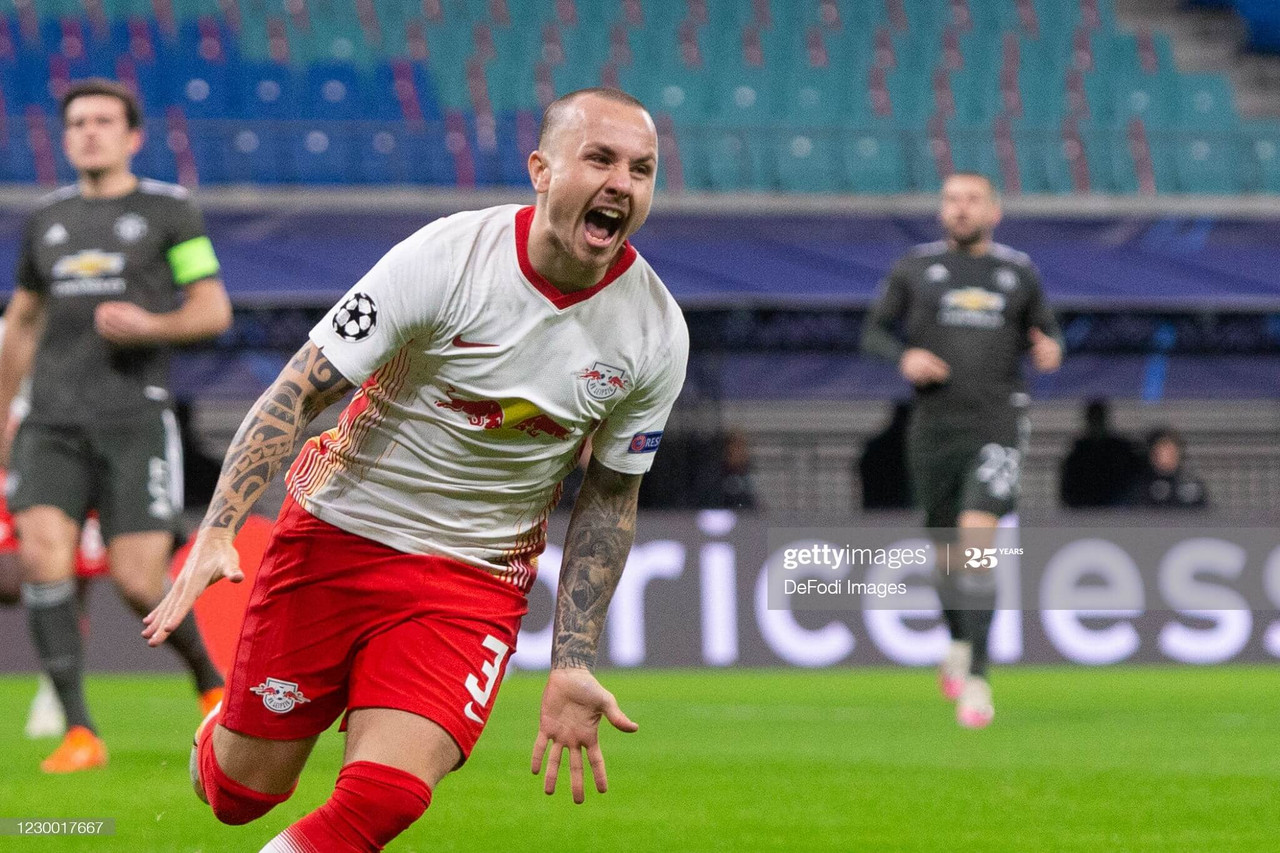 RB Leipzig 3-2 Manchester United: Late rally not enough for United to avoid Champions League exit
