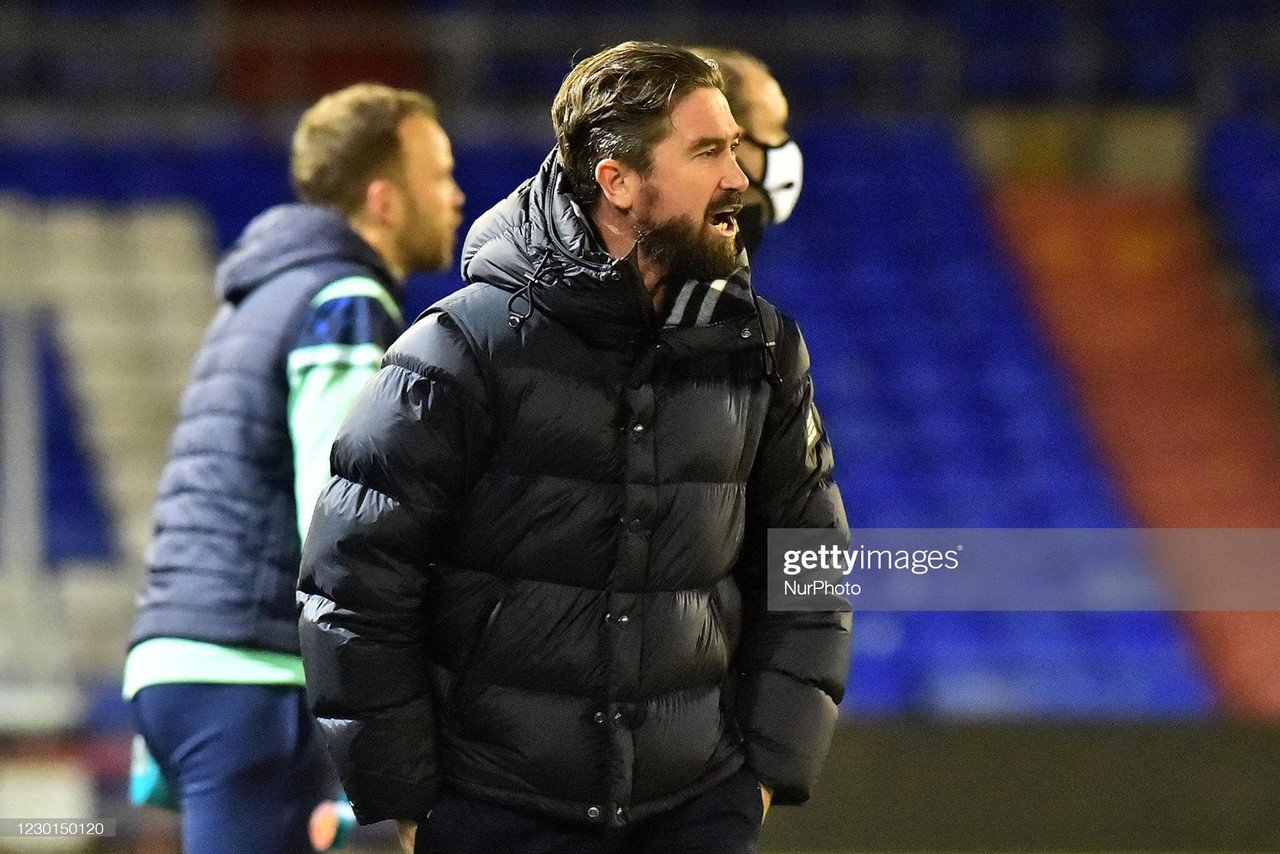 """""""I don't think we deserved anything today"""" - Harry Kewell after Oldham Athletic's loss to Harrogate Town"""