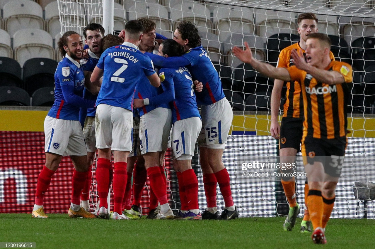 Hull City 0-2 Portsmouth: Pompey condemn Tigers to third straight defeat