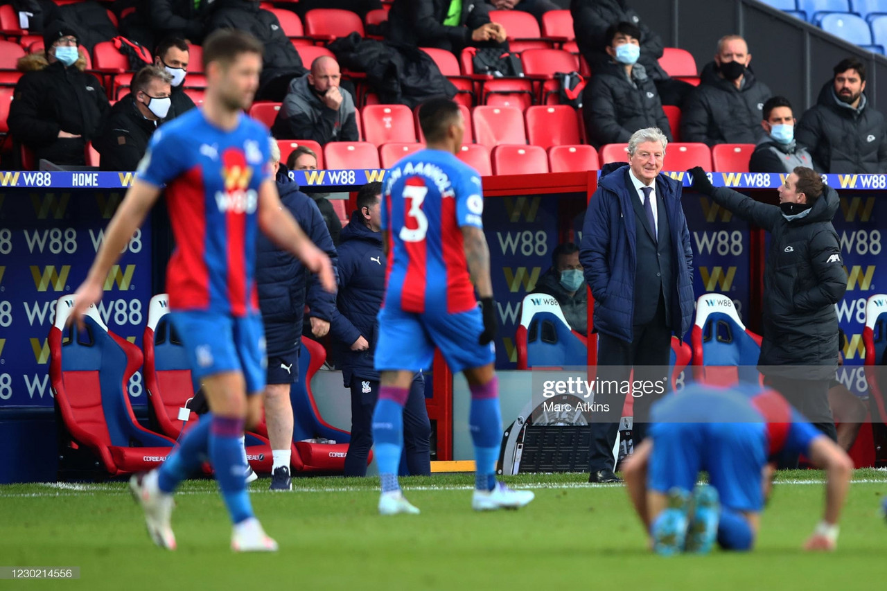 The criticism of the record without Wilfried Zaha 'stings' the rest of the Crystal Palace squad says Hodgson