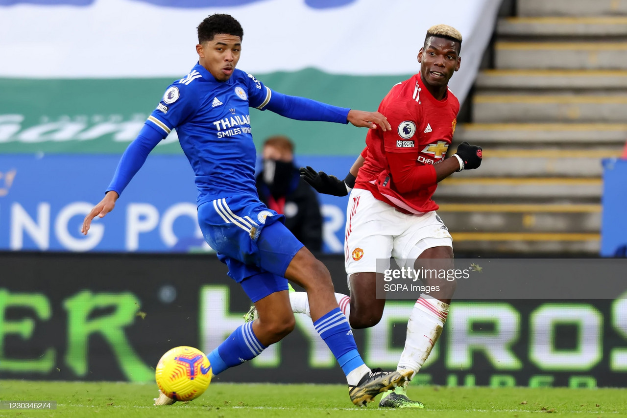 Leicester City vs Manchester United: Predicted Line Ups