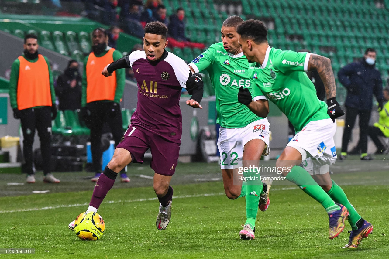 Saint-Etienne 1-1 PSG: Honors even at the Stade Geoffroy-Guichard