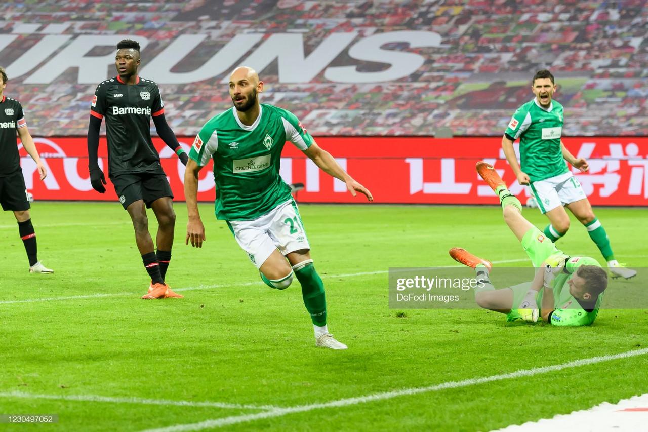 Bayer Leverkusen 1-1 Werder Bremen: Honors even at the BayArena