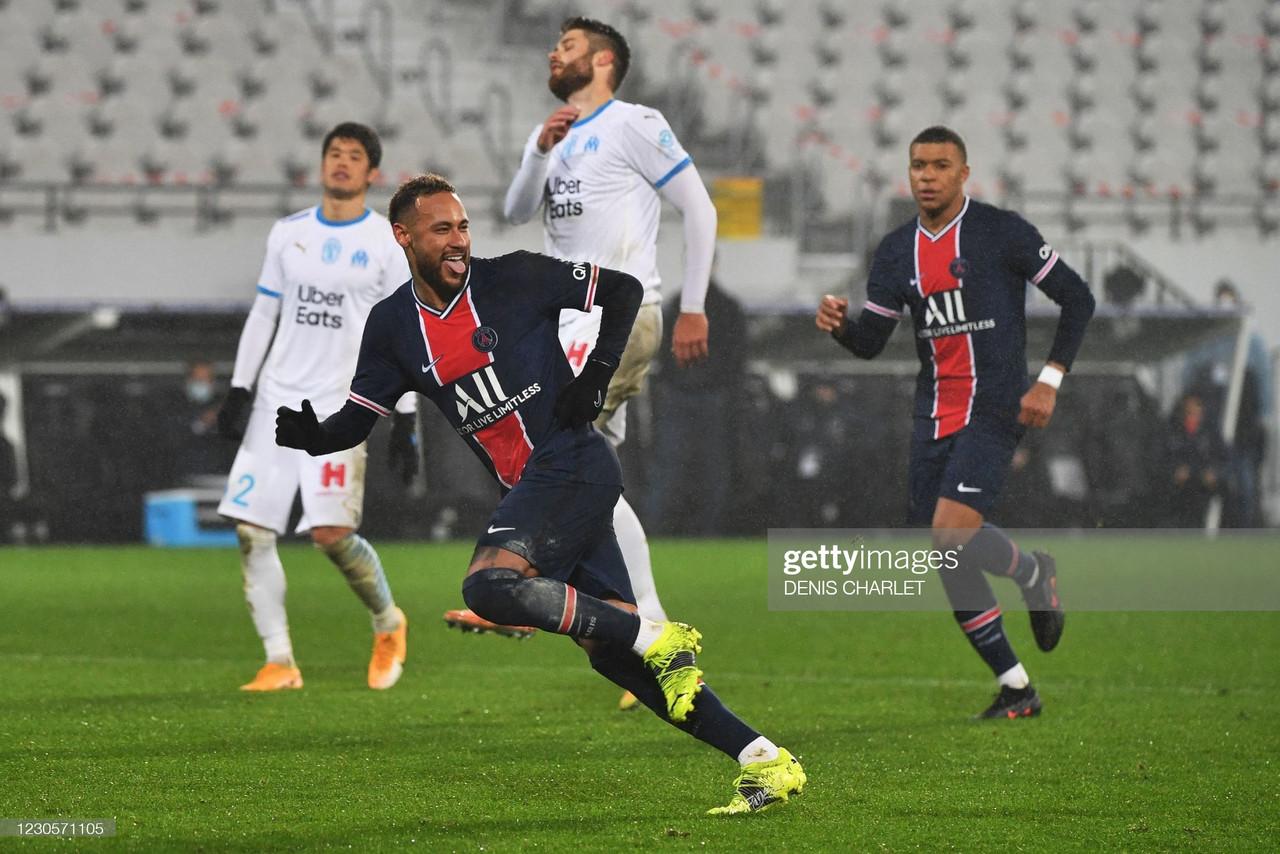 Paris Saint-Germain 2-1 Marseille: PSG win the 2021 Trophée des Champions