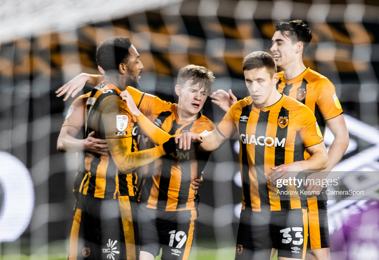 Hull City 3-0 Accrington Stanley: Tigers go top after Burgess sees red