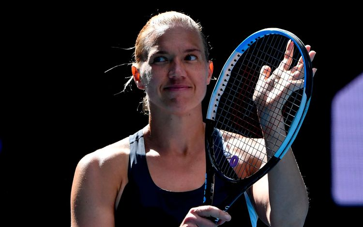 2021 Australian Open: Kaia Kanepi routs Sofia Kenin in clinical performance