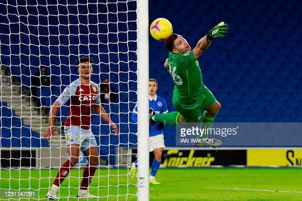 Brighton & HA 0-0 Aston Villa: Seagulls settle for a point after firing blank