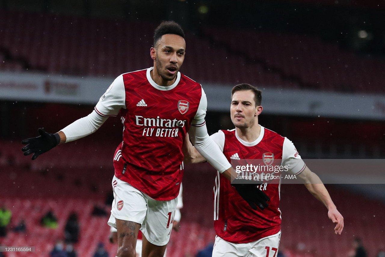 Arsenal 4-2 Leeds United: Aubameyang hat-trick sinks Leeds