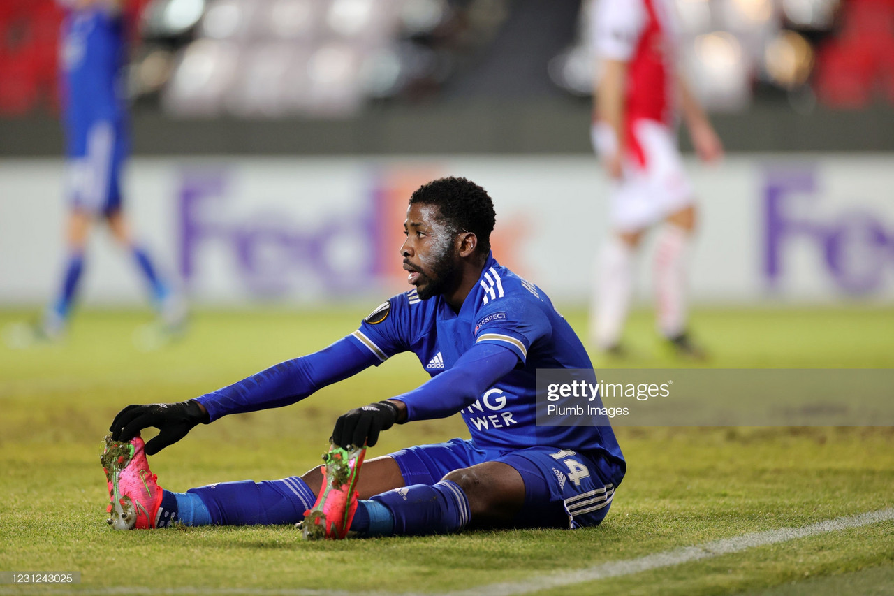 Slavia Prague 0-0 Leicester City: Foxes held in the first leg as it ends a stalemate in the Czech capital