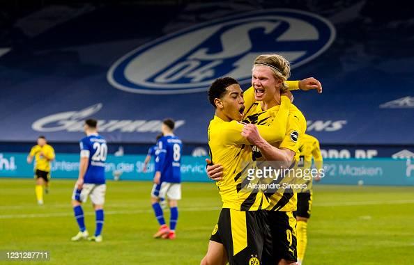 FC Schalke 04 0-4 Borussia Dortmund: Haaland brace caps big Revierderby win