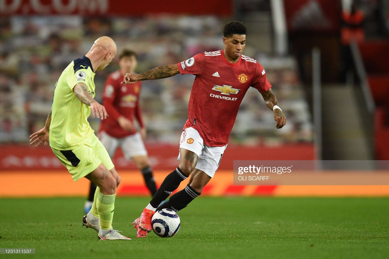 Manchester United 3-1 Newcastle United LIVE: Maguire almost adds a fourth!