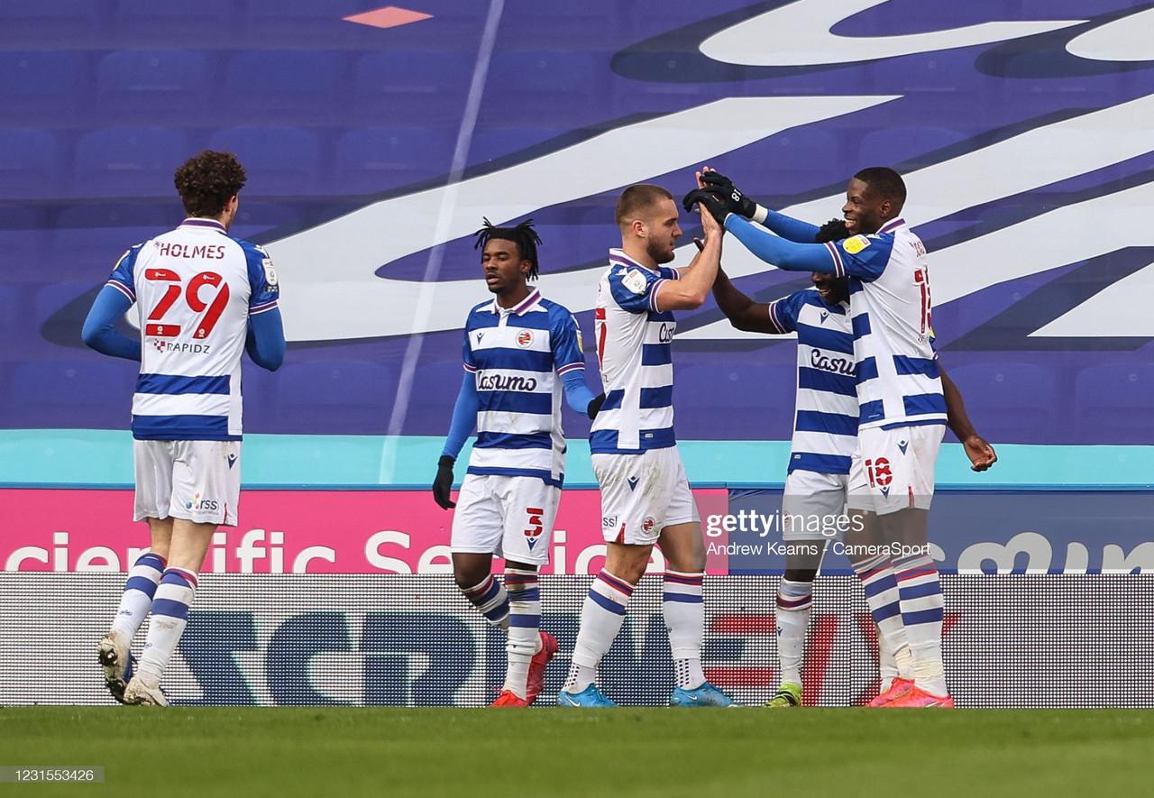 Reading 3-0 Sheffield Wednesday: Reading make light work of ten-man Wednesday