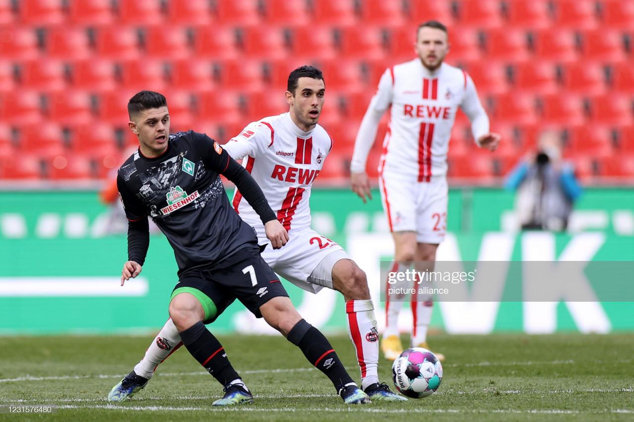 FC Koln 1-1 Werder Bremen: Honors even at the RheinEnergieStadion